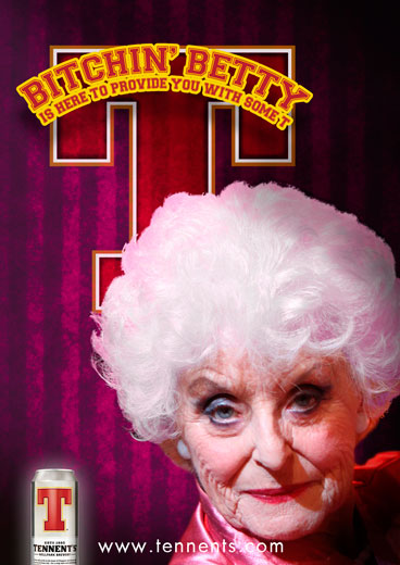 ... a group of older women who promote and enjoy Tennent's beer responsibly.
